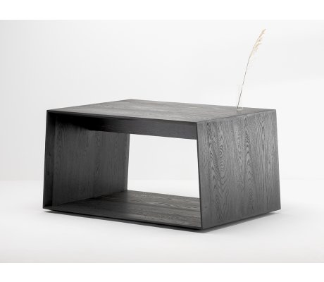 Table basse Anouk en chêne noir - bois et design made in France